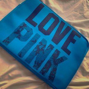 PINK Victoria Secret Laptop Case